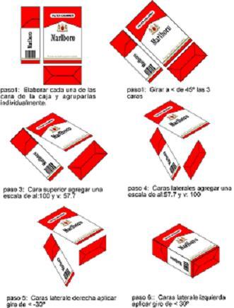 Pasos para construir isometrico en freehand